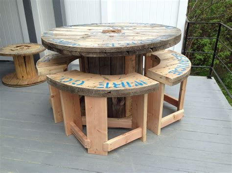 large wooden spools used for tables wooden wire spool tables google search backyard