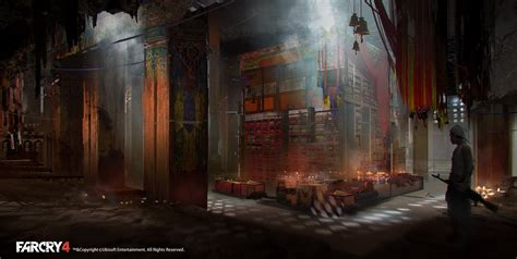 artstation farcry concept art temple  library