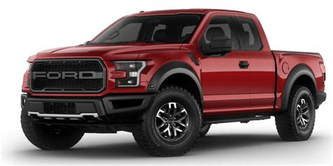 2017 Ford F-150 Raptor Pickup 1