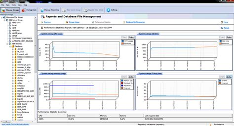 screenshots  lepide sql storage manager showing step
