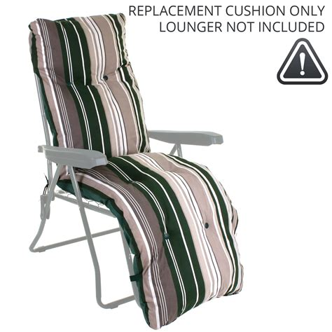 Recliner Sun Lounger Cushions by Sun Lounger Cushion Outdoor Garden Patio Recliner Thick