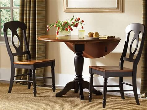 Dining Table Small Spaces, Drop Leaf Dining Room Tables