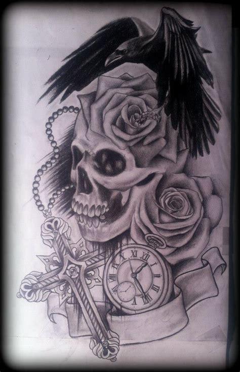 skull roses tattoos  women  men