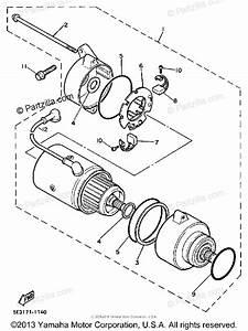 Yamaha Motorcycle 1985 Oem Parts Diagram For Starting