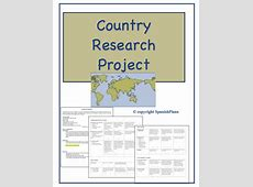 Country Research Project SpanishPlansorg