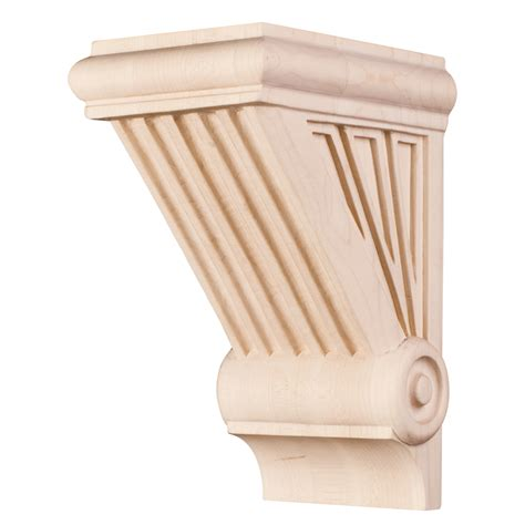 Traditional Wood Corbels by Traditional Starburst Handcarved Corbel Cor3 1