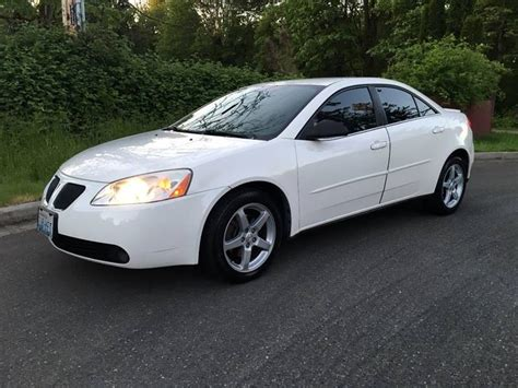 2007 Pontiac G6 4dr Car G6 Cars For Sale