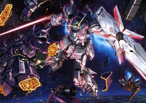 gundam mobile suit 42 gundam unicorn wallpaper hd wallpapersafari