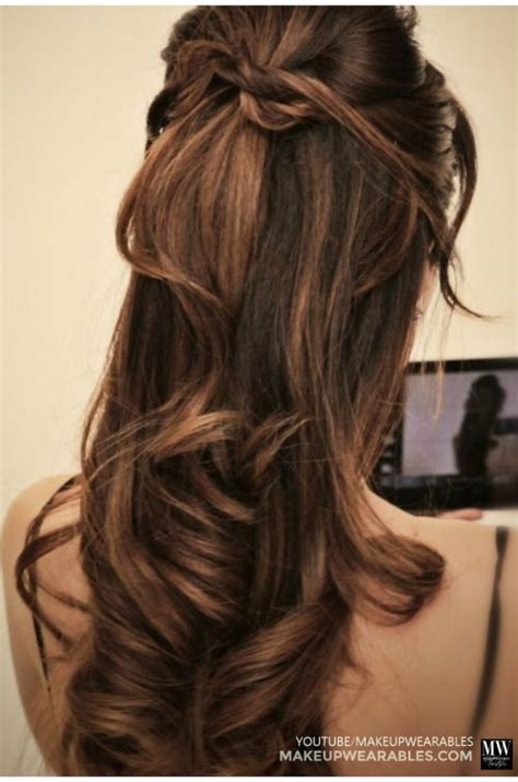 quick  easy hairstyles  short long curly hair