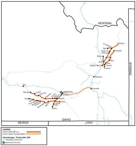 Eastern Idaho Railroad (EIRR) - Watco Companies