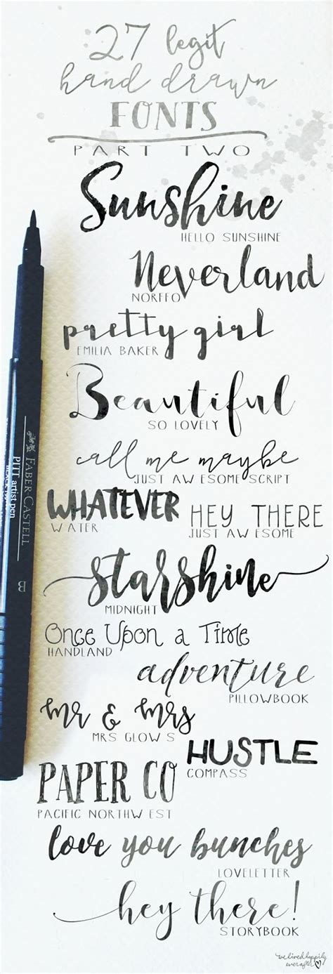 25 best ideas about hand lettering on pinterest handwriting fonts calligraphy and bullet