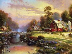 A warrior for light: In Memory of Thomas Kinkade