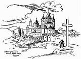 Monastery Drawing Getdrawings Timing Definition Abbey Olden Laach sketch template