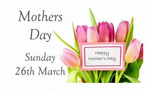 Mothers Day Sunday 26th March - The Crown