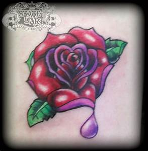 Gallery For > New School Rose Tattoo