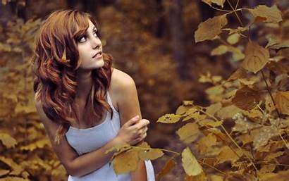 Nature Redhead Leaves