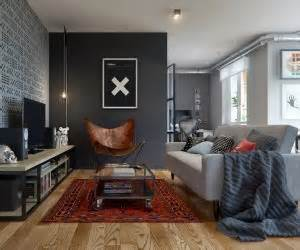 Eclectic Single Bedroom Apartment With Open Floor Plan by House Tours Interior Design Ideas