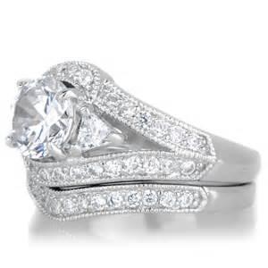 fashioned wedding rings lola 39 s vintage style wedding ring set