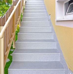 Außentreppe Waschbeton Sanieren : kunststoffschutz f r au entreppen bauhandwerk ~ Orissabook.com Haus und Dekorationen