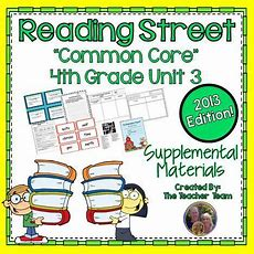 Reading Street Aligned Common Core 4th Grade Unit 3 Supplemental Materials 2013  This Bundle