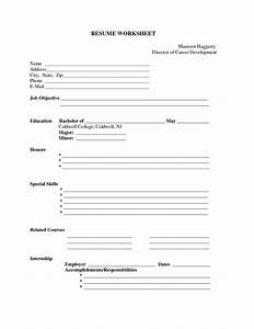 free printable blank resume forms http www With free blank resumes to print