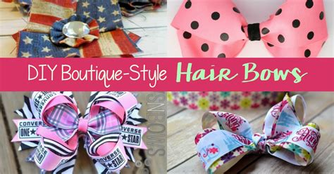 boutique style hair bow tutorial diy boutique style hair bows 6832