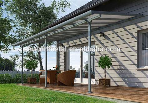 sturdy aluminium frame hollow polycarbonate balcony