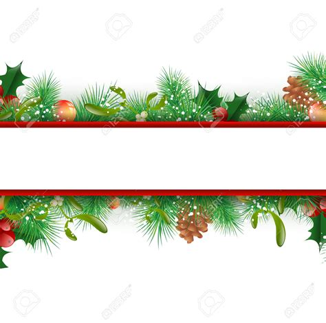decorative christmas border festival collections