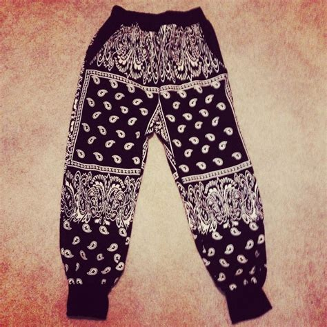 The BANDANA JOGGER in Black | teen fashion | Pinterest | The ou0026#39;jays Products and Amazons