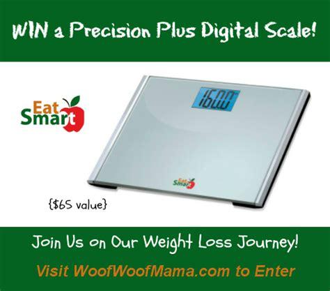 Eatsmart Precision Digital Bathroom Scale Esbs 01 by Giveaway Win A Precision Plus Digital Scale From Eatsmart