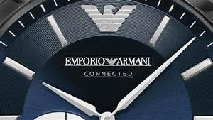 emporio armani connected une ligne de montre connectees With robe fourreau combiné avec montre connectee suivre sommeil