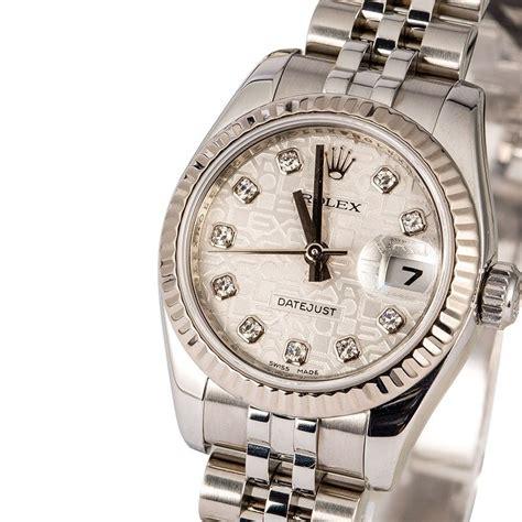 Rolex Lady Datejust 179174 Silver Diamond Jubilee Dial