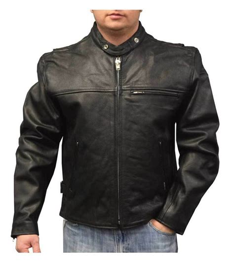 Cowhide Jackets by Redline S Lightweight Zip Out Liner Cowhide Leather