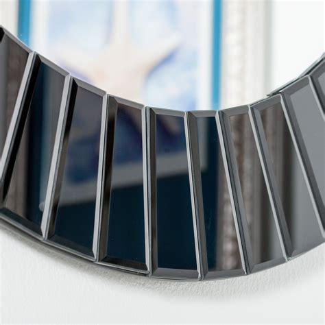 Alcove measures 30 x 20 inches (76 x 51 cm) and each shelf has. Decor Wonderland The Glow Modern Frameless Wall Mirror & Reviews   Wayfair