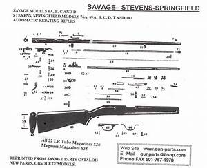 I Have A Stevens  22 Rifle Model 87c  The Firing Assembly