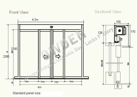 charming automatic sliding door plan dwg gallery exterior ideas 3d gaml us gaml us