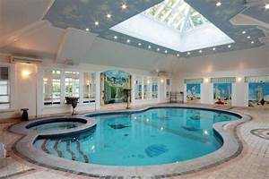20 homes with beautiful indoor swimming pool designs With houses with swimming pools inside