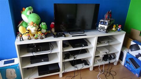 All Of My Video Game Consoles 3142016 Youtube