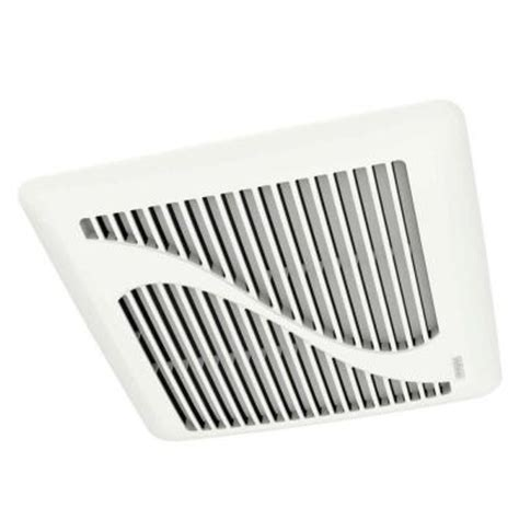 nutone bathroom fan home depot nutone invent series 110 cfm ceiling exhaust bath fan