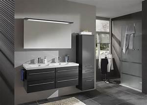 meuble vasque salle de bain bleu With meuble salle de bain keuco