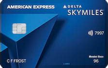 But, while the delta skymiles blue american express card doesn't offer a free checked bag or priority seating on delta flights, you'll still be able to if you use the delta skymiles blue american express card for major purchases, these protections and insurances can help save you money while. Delta SkyMiles Blue American Express Card Reviews