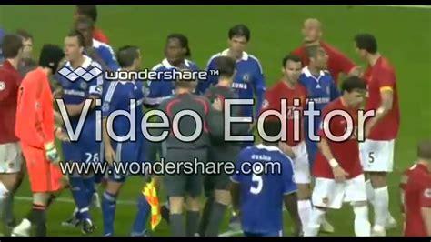 Chelsea vs Manchester United Fight 2008 - YouTube