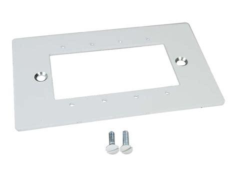 wiremold floor box plates c2g wiremold evolution series floor box device plate 16286