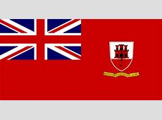Gibraltar United Kingdom Civil ensign