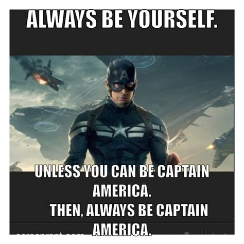 Captain America Meme - captain america meme captain america pinterest america funny agree with and captain america