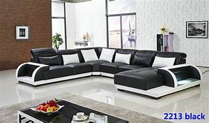 2015 new design living room furniture luxury leather for Newest style living room furniture