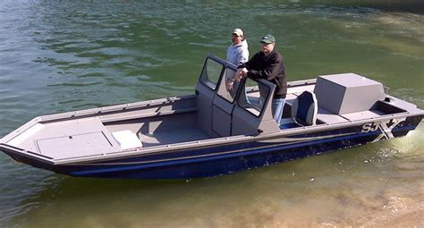 Fast Shallow Water Boats by Shallow Water Aluminium Jet Boat Shallow Water