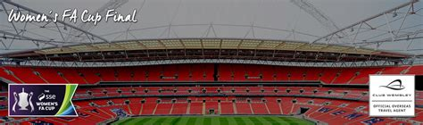 Womens FA Cup Final VIP Tickets & Hospitality | Wembley ...