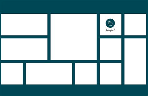 intuitive draggable layout plugin  jquery gridster