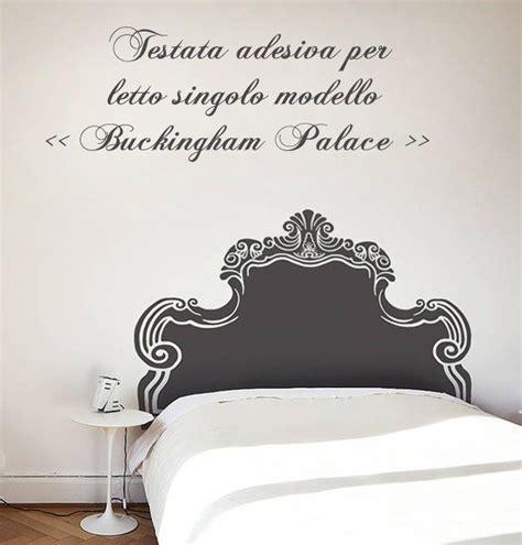 Testiera Letto Adesiva by Testata Letto Adesiva Per Letto Singolo Per La Casa